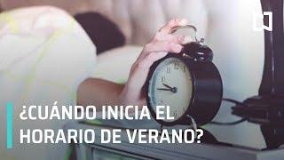 ¿Cuándo Inicia El Horario De Verano 2019?