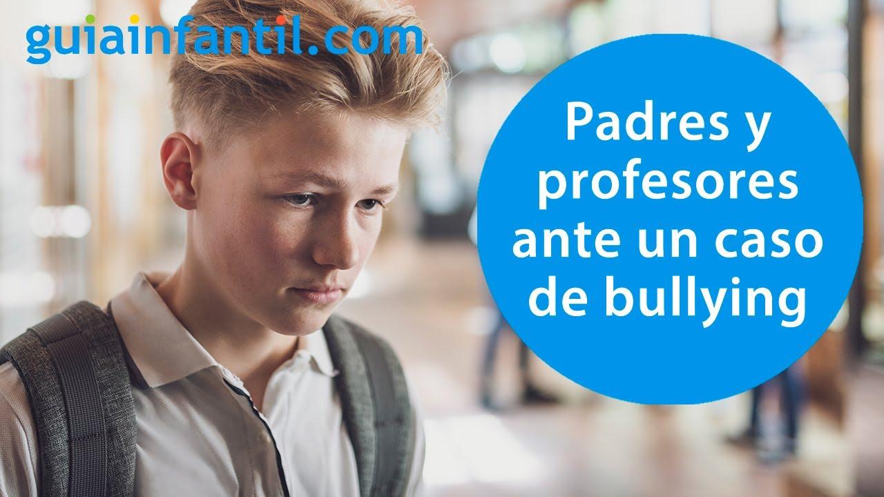 ¿Qué necesitan los niños que son víctima de bullying de sus padres y profesores?