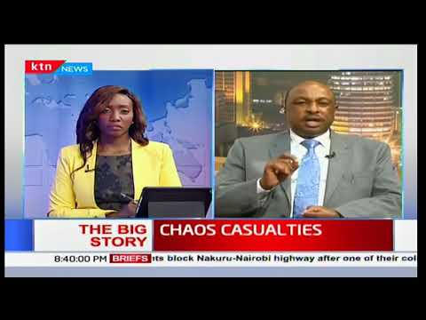 Eric Kiraithe: Don't go to an unlawful assembly, take part in a riot thinking you'll be compensated