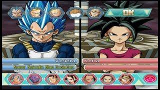 Dragon Ball Z Budokai Tenkaichi 4 (BETA 6) | Nuevo Roster (MOD PS2)