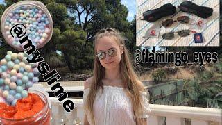 |СЛАЙМ-ОНЛАЙН|Обзор на слаймы от @myslime и очки от @flamingo_eyes
