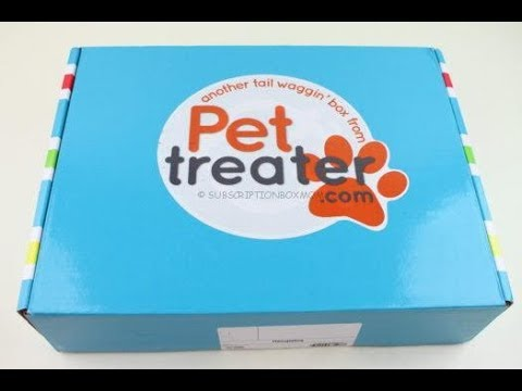 Pet Treater Box August 2018 Unboxing + Coupons #PetTreater