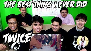 TWICE - THE BEST THING I EVER DID MV REACTION (FUNNY FANBOYS)