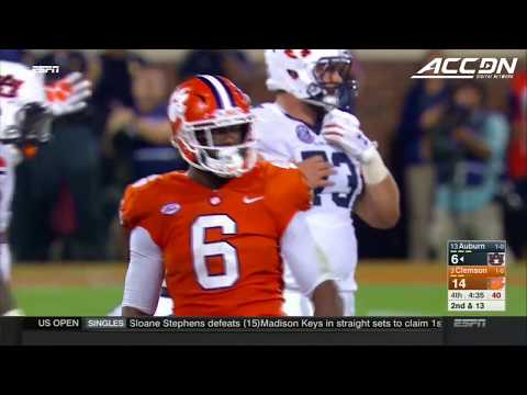 Clemson's Defense Dominates Auburn