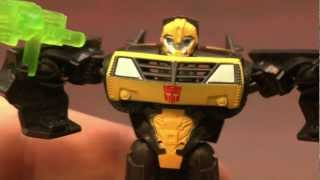 CGR Toys - TRANSFORMERS Quickblade Bumblebee review