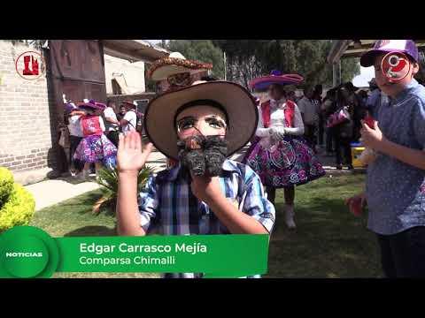 Comparsa Chimalli, presente en el Carnaval Sin Fronteras 2020