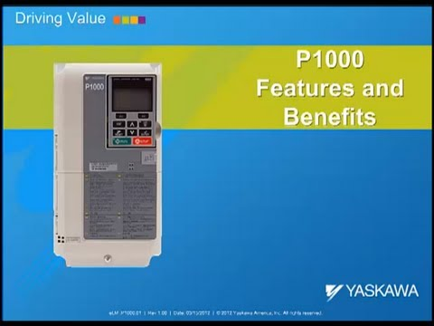 P1000 Yaskawa Electric AC Drive