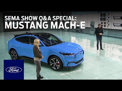 Ford Auto Nights: SEMA Show Q&A Special - Mustang Mach-E | Ford