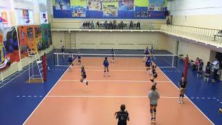 Детский волейбол. Девочки. Иваново -  Липецк - 0:3. Часть №1.