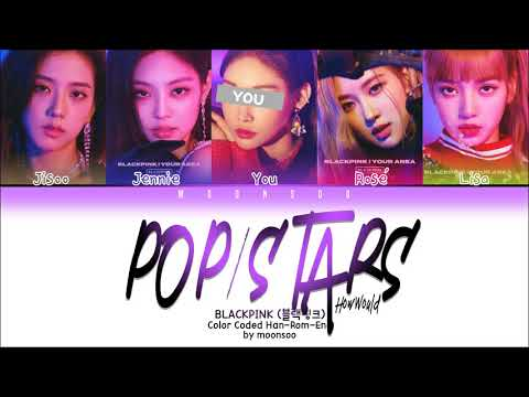 "How Would BLACKPINK「5 Members Ver.」Sing ""POP/STARS"" By K/DA • League Of Legends"