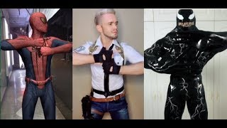 #PUBG #Venom #Spiderman Lastest Finger Dance! 手指舞 Tik Tok trend 抖音