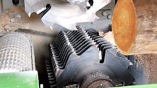 Awesome Automatic Wood Sawmill Machines Modern Technology - Fastest Wood Cutting Machine Working