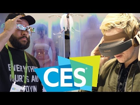 WE TRANSFERRED OUR MINDS INTO NEW BODIES • CES 2018 (видео)