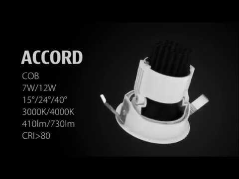 Đèn LED Âm Trần Spotlight - Accord2.0 - Chiếu hắt tường