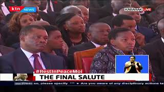 THE FINAL SALUTE: Biblical readings at Mzee Moi\'s funeral service