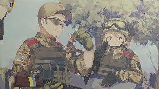 Украинские военные в стиле аниме