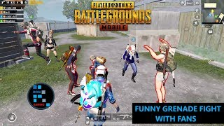[Hindi] PUBG MOBILE   AMAZING TDM MATCH TURNED IN TO GRENADE FIGHT WITH FANS
