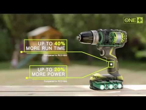 Ryobi 18V ONE+ BRUSHLESS PERCUSSION DRILL / DRILL DRIVER
