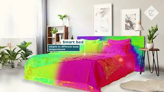 video: Smart homes of the future could include colour-changing furniture and heated bed sheets