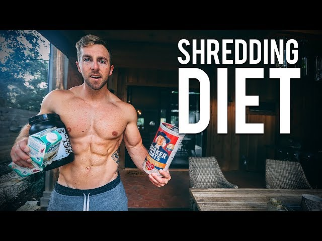 My Diet To Get Shredded | FULL DAY OF EATING + TRAINING