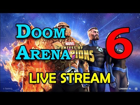 Doom Arena - Round 2 - Part 6 | Marvel Contest of Champions Live Stream