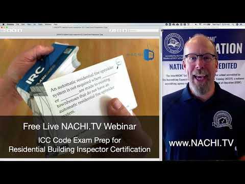 Free Live NACHI.TV Webinar: ICC Code Exam Preparation with IRC ...