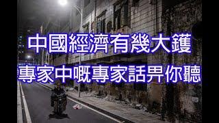 中國經濟有幾大鑊😭專家中嘅專家話畀你聽🏳📉2018_12_18