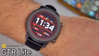 Amazfit GTR Lite Review - Best Budget Smartwatch?
