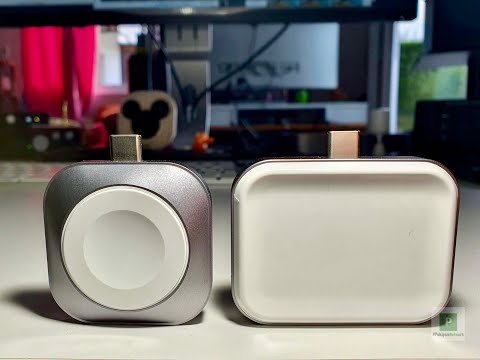 Satechi USB-C Wireless Charging Dock für die Apple Watch und den AirPort