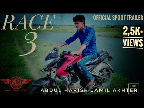 Race 3 official spoof trailer salman khan Remo D'Souza Jacqueline Fernandez abdulharishfilms
