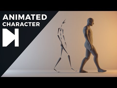 Cinema 4D Tutorial – How To Get Free Animated Characters