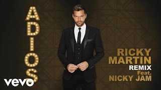 Ricky Martin - Adiós (DJ Riddler Remix (English Version)) (Cover Audio) ft. Nicky Jam