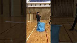 平行トスキャッチ  練習方法