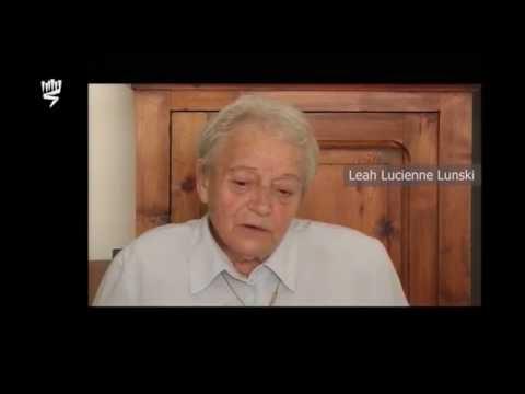 Leah Lucienne Lunski, rescapée de la Shoah, raconte la rafle du Billet vert survenue le 14 mai 1941