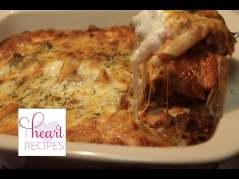Video How to make Baked Ziti with Meat Sauce | I Heart Recipes