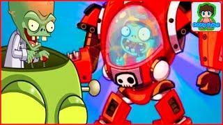 Галактическое Обновление Игра Зомби против Растений  Герои от Фаника Plants vs zombies Heroes 40