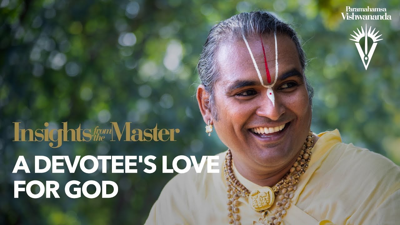 A Devotee's Love for God | Insights from the Master