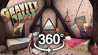 Gravity Falls 360 #2: Attic Bedroom (IN COLOR)