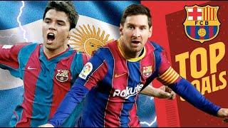 ?? MESSI, MARADONA, SAVIOLA... BEST GOALS BY ARGENTINIANS FOR BARÇA