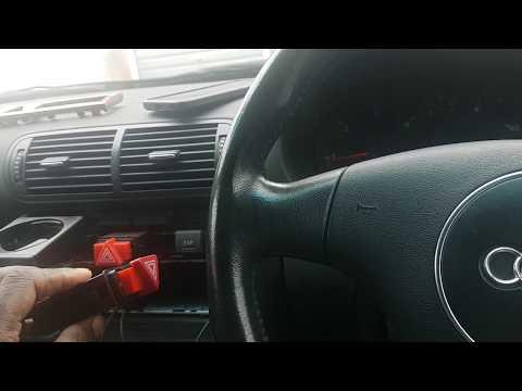 Audi A3 8L Hazard switch