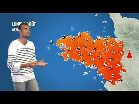 Illustration de l'actualité La météo pour votre lundi 3 août 2020