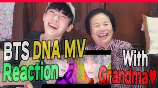 BTS - DNA MV Reaction with my Grandma~!
