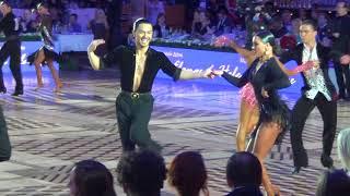 Ostin Joson  & Nino Dzneladze Jive 1/4 Kremlin Cup Amateur Latin