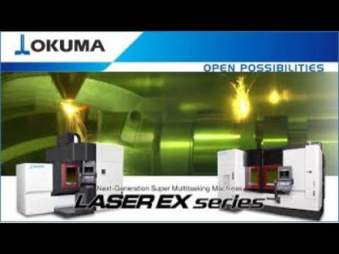 NEW Okuma LASER EX Series