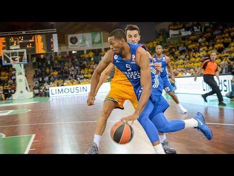 Highlights: RS Round 1, Limoges CSP 77-89 Anadolu Efes Istanbul