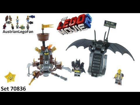 Vidéo LEGO The LEGO Movie 70836 : Batman en armure de combat et Barbe d'acier