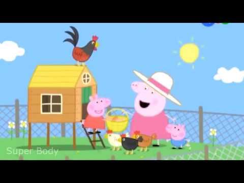 Куры Бабушки Свиньи! Свинка Пеппа. #DJESSMAY