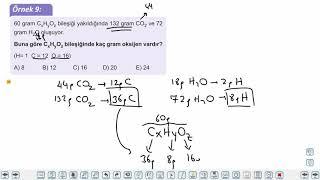 Eğitim Vadisi 10.Sınıf Kimya 1.Föy Kimyanın Temel Kanunları Konu Anlatım Videoları