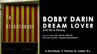BOBBY DARIN – DREAM LOVER (in re-mastered widescreen HD & stereo)