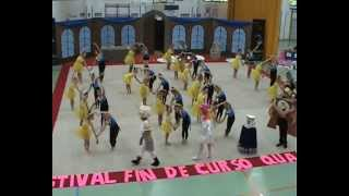 Festival fin de curso Ritmica Quart 2012/13.